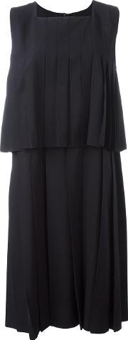 Comme Des Garcons Comme Des Garcons , Layered Pleated Dress Women Cuprowool S