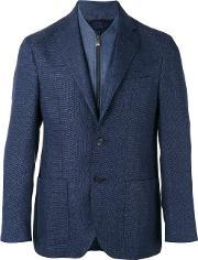 Corneliani , Two Button Blazer Men Linenflaxcuprovirgin Wool 52
