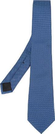 Gucci , Patterned Tie Men Silk One Size, Blue