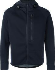 Moncler Grenoble , Fitted Hooded Jacket Men Polyamidepolyestermodal Xl, Blue