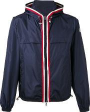 Moncler , Stripe Detail Windbreaker Men Nylonpolyamide 5