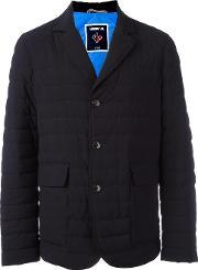 Rossignol , 'harker' Padded Blazer Men Feather Downpolyamidepolyestervirgin Wool M, Blue