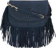 Tory Burch , Fringed Shoulder Bag Women Suede One Size