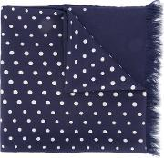 Universal Works , Dots Scarf Men Polyesterviscose One Size