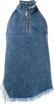 Marquesalmeida , Marques'almeida Sleeveless Asymmetric Top