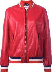 Michel Klein , Bomber Jacket Women Silkleather 38, Women's, Red