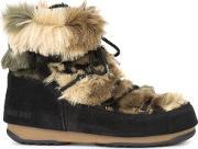 Moon Boot , We Low Fur Boots Women Artificial Furleather 7, Women's, Black