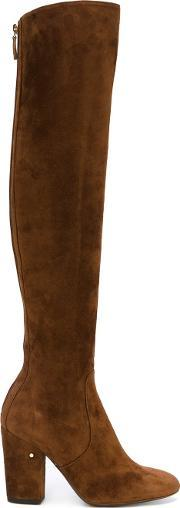 Laurence Dacade , 'illusion' Boots Women Leathercalf Suede 40, Women's, Brown