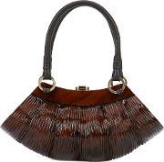 Rocio , Collette Baby Tote Women Wood One Size, Women's, Brown