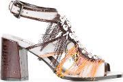 Dorothee Schumacher , Embellished Strappy Sandals