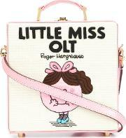 Olympia Letan , Olympia Le Tan 'little Miss Olt' Tote Bag Women Cottonleather One Size