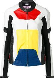 Alyx , Panelled Colour Block Jacket Women Calf Leatherpolyamidepolyester S, Women's