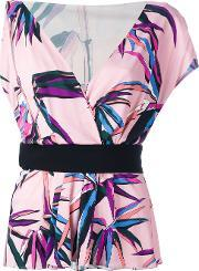 Emilio Pucci , Palm Trees Print Top
