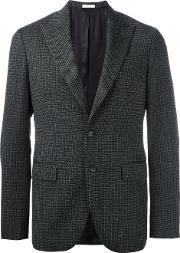 Boglioli , Flap Pocket Blazer Men Acetatecuprovirgin Wool 48, Grey
