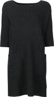The Elder Statesman , 'guatemala' Dress Women Cashmere One Size, Women's, Grey