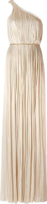 Maria Lucia Hohan , Pleated One Shoulder Dress