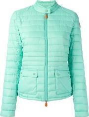 Save The Duck , Padded Jacket Women Nylonpolyester 3, Women's, Green