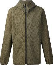 Christopher Raeburn , Hooded Raindrop Anorak Jacket Men Cotton L, Green