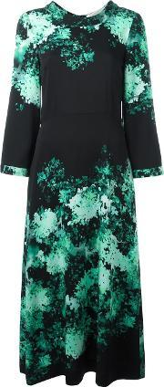Goat , 'doe' Printed Dress Women Spandexelastaneviscose 12, Women's, Green