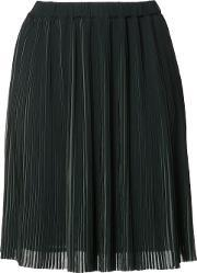 Just Female , Pleated Mini Skirt Women Polyester M, Women's, Green