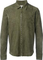 Our Legacy , Zipped Suede Jacket