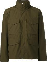 Paul Smith London , Patch Pocket Hooded Jacket Men Cottonpolyester Xl