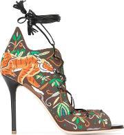 Malone Souliers , 'savannah' Sandals Women Cottoncalf Leatherleather 39