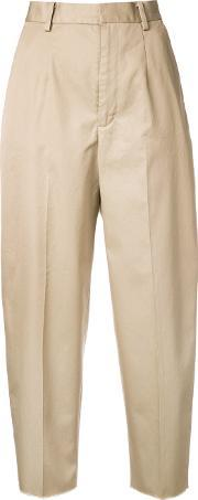 Astraet , Cropped Trousers Women Cotton 1