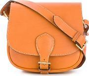 Alexandre Mareuil , Hobo Crossbody Bag Women Leather One Size, Women's, Nudeneutrals