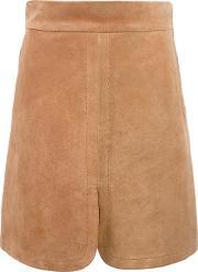 See By Chloe , Front Slit Skirt Women Calf Leather 36