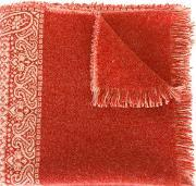 Forte Forte , Woven Paisley Scarf Women Polyamidewool One Size