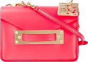 Sophie Hulme , Camera Crossbody Bag Women Leather One Size, Women's, Red