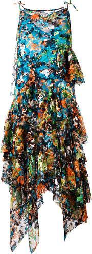 Marquesalmeida , Marques'almeida Tiered Floral Dress