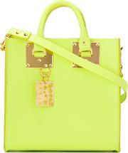 Sophie Hulme , Le Chartreuse Tote Women Leather One Size