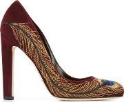 Brian Atwood , 'isabelle' Pumps Women Leathersuede 38.5, Women's, Red