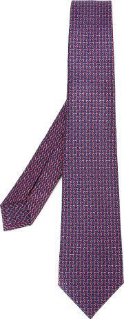 Bulgari , Patterned Tie Men Silk One Size