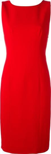 Capucci , Back Bow Detail Dress Women Polyesterspandexelastaneviscose 40