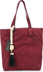 Lizzie Fortunato Jewels , 'essential' Tote Women Suede One Size, Women's, Red