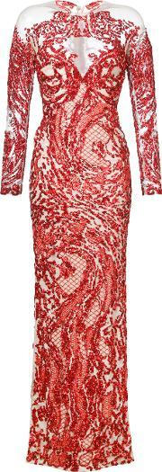 Mikael D , . Sequinned Gown