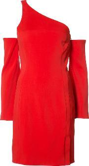 Mugler , Off Shoulder Dress