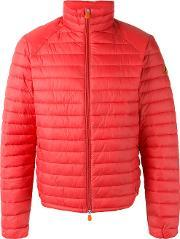 Save The Duck , Lightweight Padded Jacket Men Nylonpolyester L, Red