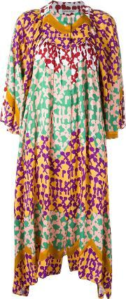 Tsumori Chisato , Patterned Shift Dress Women Rayon S