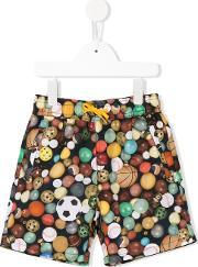 Paul Smith Junior , Printed Swim Shorts