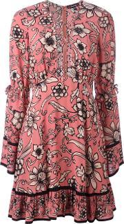 For Love And Lemons , Floral Print Flared Dress
