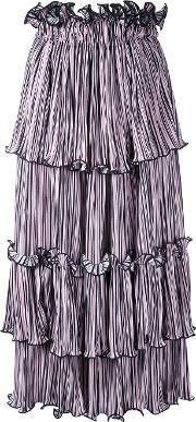 Romance Was Born , Blossoming Pleat Skirt Women Polyester 8