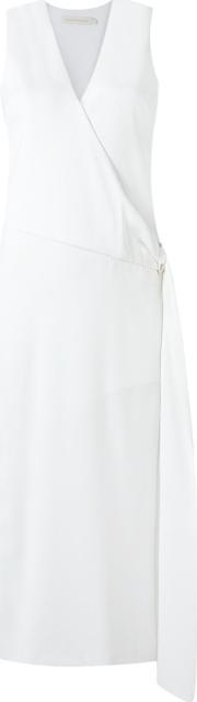Giuliana Romanno , Midi Dress Women Polyester 48, Women's, White