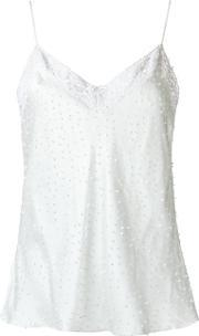 Isabela Capeto , Silk Embroidered Top