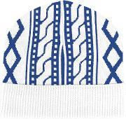 Opening Ceremony , Beanie Men Merino One Size, White