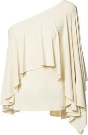 Plein Sud , Asymmetric Draped Top Women Spandexelastanerayon 40