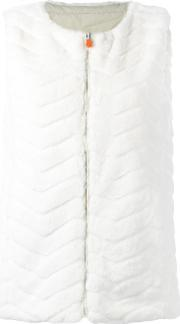 Save The Duck , Fury Gilet Women Nylonpolyester 1, Women's, White